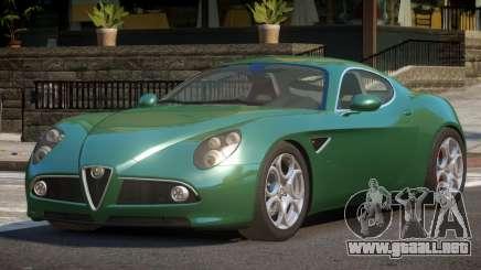 Alfa Romeo 8C Competizione SP para GTA 4