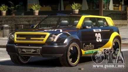 Bay Car from Trackmania United PJ2 para GTA 4