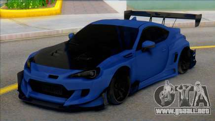 TOYOTA GT86 Carbon para GTA San Andreas