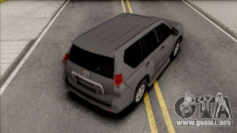 Toyota Land Cruiser Prado Grey para GTA San Andreas