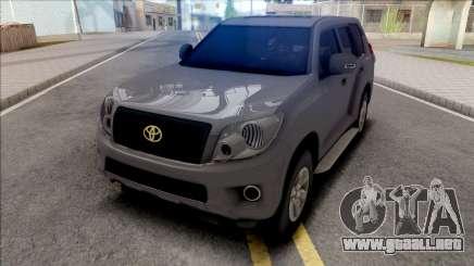 Toyota Land Cruiser Prado Grey para GTA San Andreas