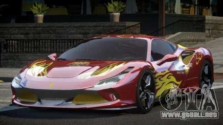 Ferrari F8 Tributo BS L9 para GTA 4