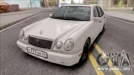 Mercedes-Benz E420 W210 Drift Gruz para GTA San Andreas
