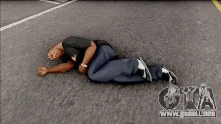 AFK Sleeping para GTA San Andreas