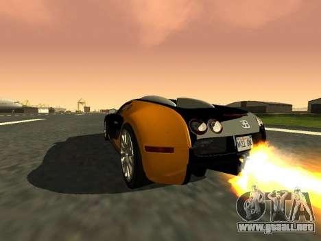 Bugatti Veyron 16.4 Carbono de oro negro [beta] para GTA San Andreas