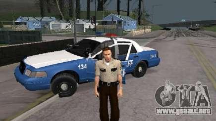 Rick Grimmes Sheriff para GTA San Andreas