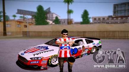 Ford Fusion Nascar: Junior FC Skin para GTA San Andreas