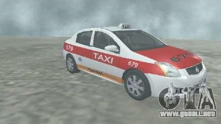 Nissan Sentra Taxi Cardel para GTA San Andreas