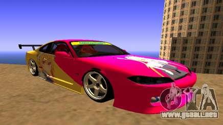 Nissan Silvia S15 Tohru Itasha para GTA San Andreas