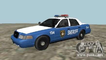 Ford Crown Victoria 2001 de The Walking Dead para GTA San Andreas