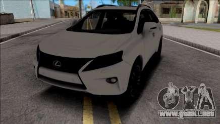 Lexus RX350 2014 para GTA San Andreas