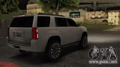 Chevrolet Tahoe 15 ImVehFT para GTA San Andreas