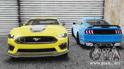 Ford Mustang Mach 1 2020 para GTA San Andreas
