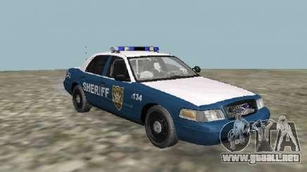 Ford Crown Victoria 2001 The Walking Dead V2 para GTA San Andreas