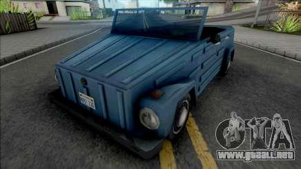 Volkswagen 181 Thing (Safari) para GTA San Andreas
