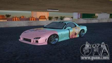 Mazda RX-7 Gabriel White Tenma para GTA San Andreas