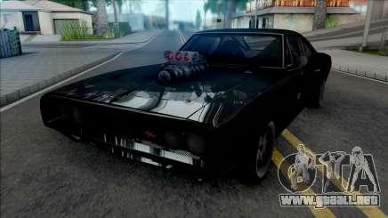 Dodge Charger RT Furious 7 (SA Lights) para GTA San Andreas