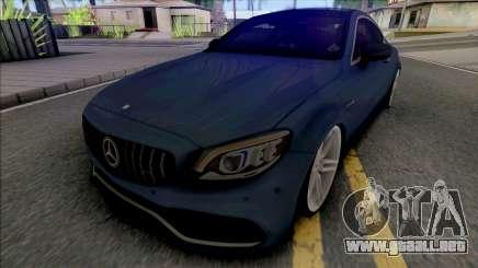 Mercedes-AMG C63s Coupe 2021 para GTA San Andreas