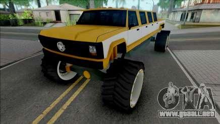 Monster A Lifted Truck para GTA San Andreas