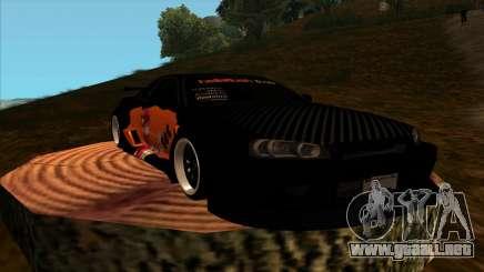 Nissan Skyline GT-R R34 - Tet (Sin juego sin vida) para GTA San Andreas