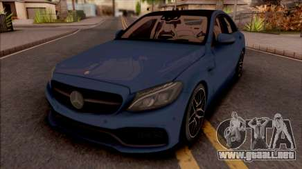Mercedes-AMG C63S W205 para GTA San Andreas
