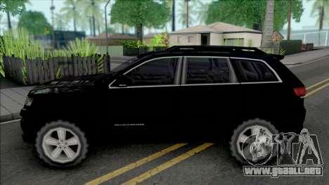Jeep Grand Cherokee SRT 2014 Improved para GTA San Andreas