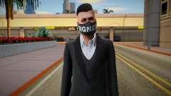 Gta Online Skin With Bigness Mask para GTA San Andreas