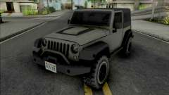 Jeep Wrangler Improved para GTA San Andreas