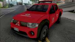 Mitsubishi L200 Triton 2010 CBMERJ Improved para GTA San Andreas