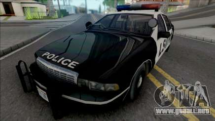 Chevrolet Caprice 1992 LSPD Improved para GTA San Andreas