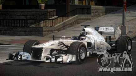 2013 Mercedes-Benz F1 W04 L3 para GTA 4