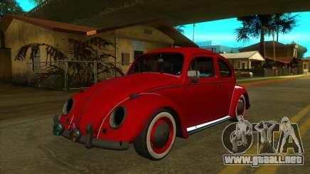 Volkswagen Beetle 1966 (IVF, VEHFUNCS, ADB) para GTA San Andreas
