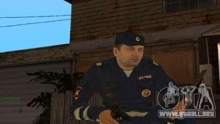 Sargento de Piel DPS para GTA San Andreas