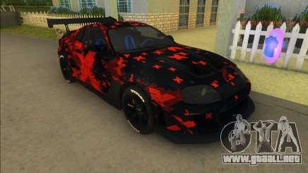 Toyota Supra MkIV Varis para GTA Vice City