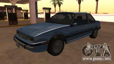 Chevrolet Cavalier 1988 Coupé para GTA San Andreas