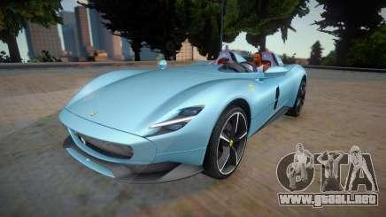Ferrari Monza SP2 2020 para GTA San Andreas