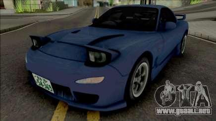Mazda RX-7 FD3s Initial D 4th Stage Iwase Kyoko para GTA San Andreas