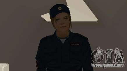 Un empleado del Ministerio del Interior para GTA San Andreas