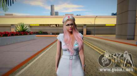 GTA Online Skin Ramdon Female Outher Dress Sexy para GTA San Andreas