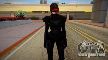 GTA V Female Robocop para GTA San Andreas