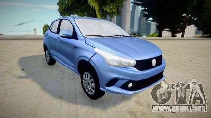 Fiat Argo 1.3 GSR V1 para GTA San Andreas