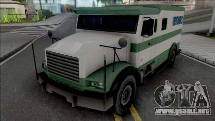 Brute Stockade SA Style Improved para GTA San Andreas