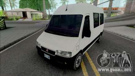 Fiat Ducato White para GTA San Andreas