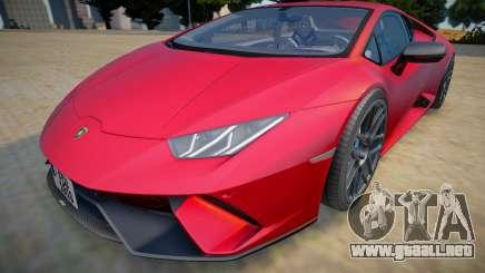 Lamborghini Huracan Performante 2020 para GTA San Andreas