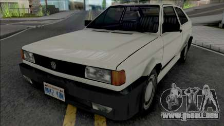 Volkswagen Gol 1994 White para GTA San Andreas