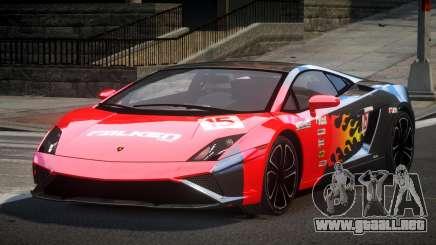 Lamborghini Gallardo BS Custom L1 para GTA 4