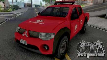 Mitsubishi L200 Triton 2010 CBMERJ Improved para GTA San Andreas