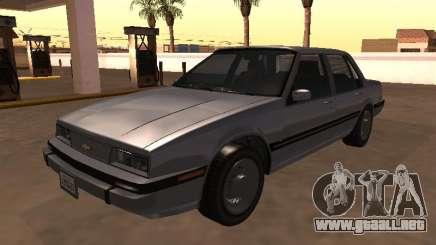 1988 Chevrolet Cavalier Sedan para GTA San Andreas