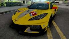 Chevrolet Corvette C8.R [HQ] para GTA San Andreas