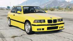 BMW M3 withoupe (E36) 1995〡add-on para GTA 5